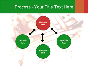 Messy Blood PowerPoint Template - Slide 91