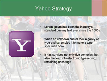 Cyclist Competition PowerPoint Template - Slide 11