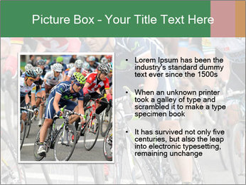 Cyclist Competition PowerPoint Template - Slide 13