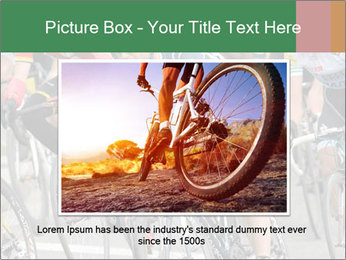 Cyclist Competition PowerPoint Template - Slide 15