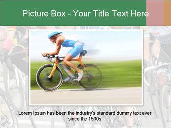 Cyclist Competition PowerPoint Template - Slide 16