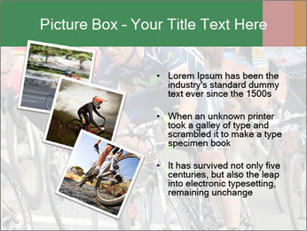 Cyclist Competition PowerPoint Template - Slide 17