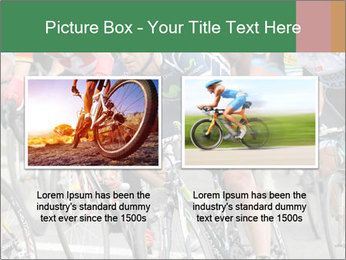 Cyclist Competition PowerPoint Template - Slide 18