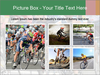 Cyclist Competition PowerPoint Template - Slide 19