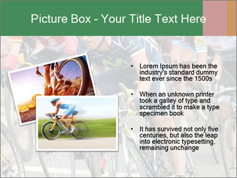 Cyclist Competition PowerPoint Template - Slide 20