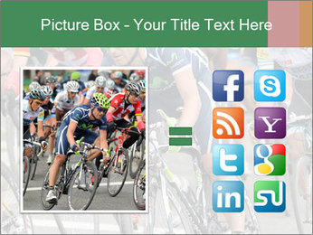 Cyclist Competition PowerPoint Template - Slide 21