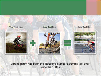 Cyclist Competition PowerPoint Template - Slide 22