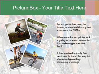 Cyclist Competition PowerPoint Template - Slide 23