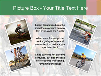 Cyclist Competition PowerPoint Template - Slide 24
