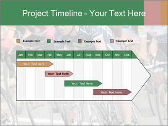 Cyclist Competition PowerPoint Template - Slide 25