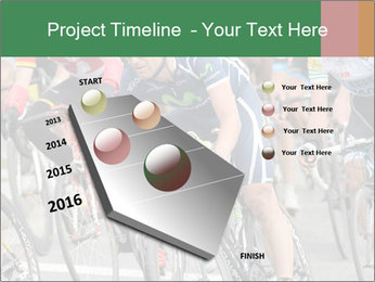 Cyclist Competition PowerPoint Template - Slide 26