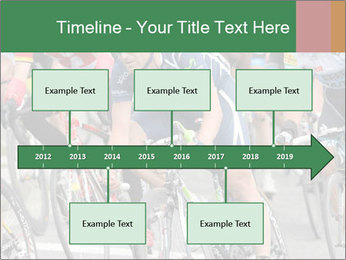 Cyclist Competition PowerPoint Template - Slide 28