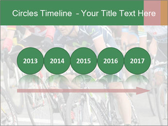 Cyclist Competition PowerPoint Template - Slide 29