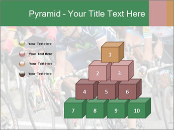 Cyclist Competition PowerPoint Template - Slide 31