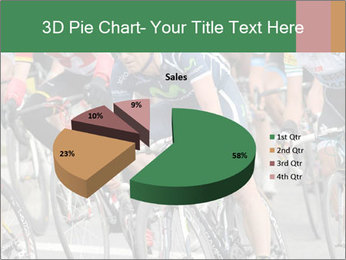 Cyclist Competition PowerPoint Template - Slide 35