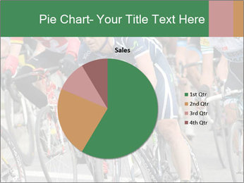 Cyclist Competition PowerPoint Template - Slide 36