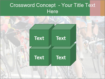 Cyclist Competition PowerPoint Template - Slide 39