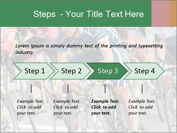 Cyclist Competition PowerPoint Template - Slide 4