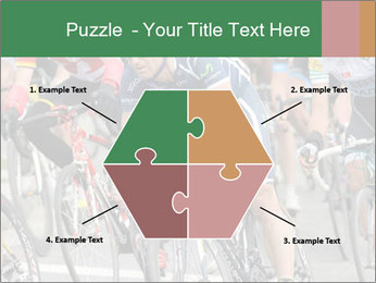 Cyclist Competition PowerPoint Template - Slide 40