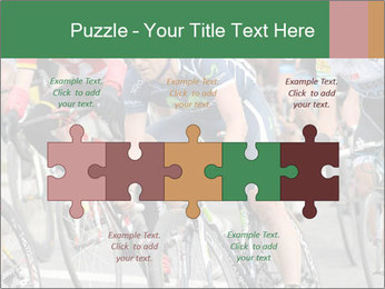 Cyclist Competition PowerPoint Template - Slide 41