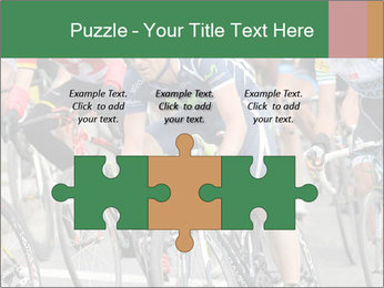 Cyclist Competition PowerPoint Template - Slide 42