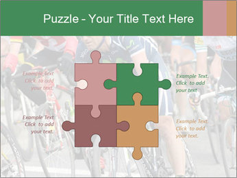 Cyclist Competition PowerPoint Template - Slide 43