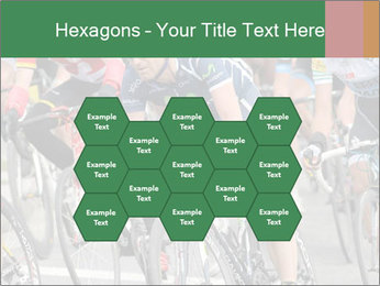 Cyclist Competition PowerPoint Template - Slide 44