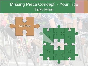 Cyclist Competition PowerPoint Template - Slide 45