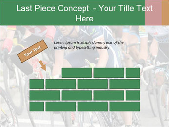 Cyclist Competition PowerPoint Template - Slide 46