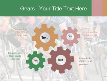 Cyclist Competition PowerPoint Template - Slide 47