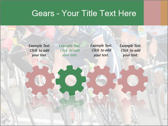 Cyclist Competition PowerPoint Template - Slide 48