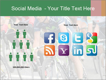 Cyclist Competition PowerPoint Template - Slide 5