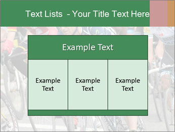Cyclist Competition PowerPoint Template - Slide 59