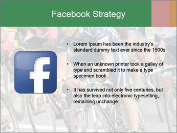 Cyclist Competition PowerPoint Template - Slide 6