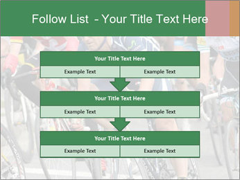Cyclist Competition PowerPoint Template - Slide 60