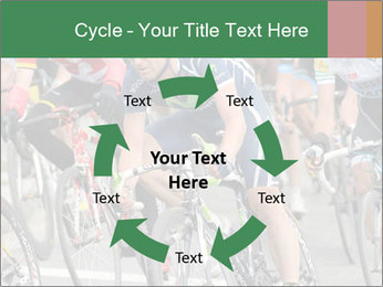 Cyclist Competition PowerPoint Template - Slide 62