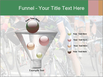 Cyclist Competition PowerPoint Template - Slide 63