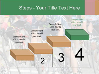 Cyclist Competition PowerPoint Template - Slide 64