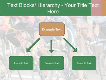 Cyclist Competition PowerPoint Template - Slide 69