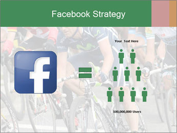 Cyclist Competition PowerPoint Template - Slide 7