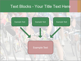 Cyclist Competition PowerPoint Template - Slide 70