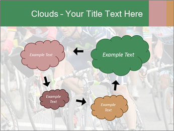 Cyclist Competition PowerPoint Template - Slide 72