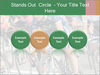 Cyclist Competition PowerPoint Template - Slide 76