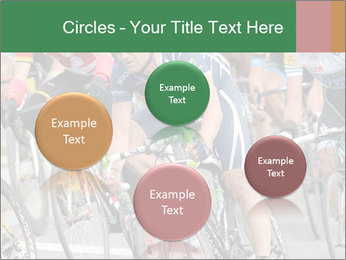 Cyclist Competition PowerPoint Template - Slide 77