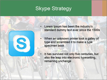 Cyclist Competition PowerPoint Template - Slide 8
