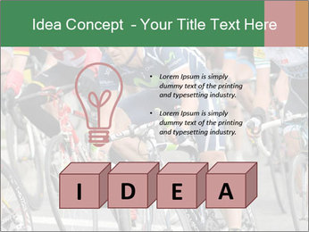 Cyclist Competition PowerPoint Template - Slide 80