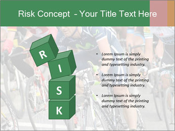 Cyclist Competition PowerPoint Template - Slide 81