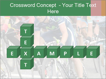 Cyclist Competition PowerPoint Template - Slide 82