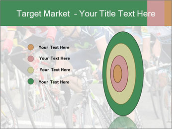 Cyclist Competition PowerPoint Template - Slide 84