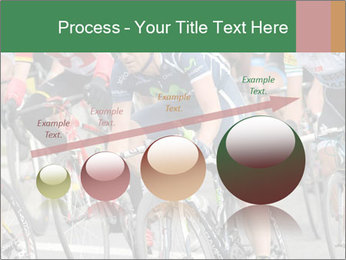 Cyclist Competition PowerPoint Template - Slide 87